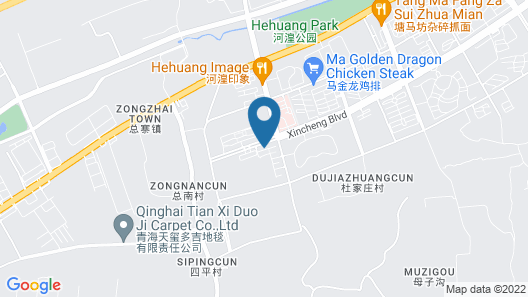 St. Treasure Luxury Qinghai China Map