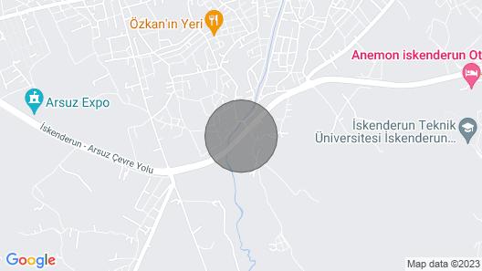 Arsuzda Si̇zi̇ Bekleyen Güzelli̇kler VAR Map