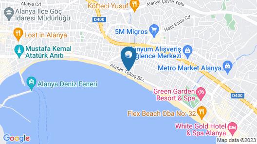 Monart City Hotel - All Inclusive Map
