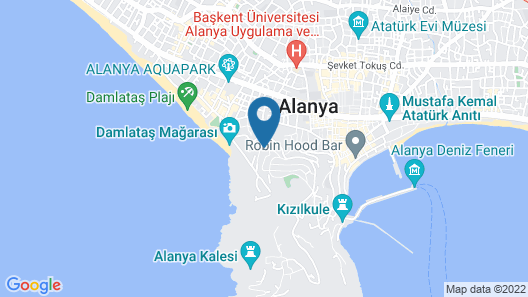 Bella Vista Suit Hotel Map