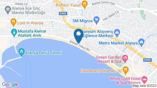 Parador Beach Hotel Map