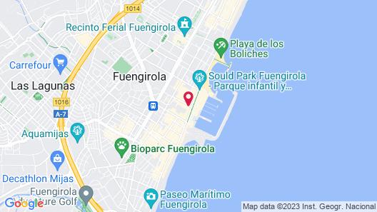 Hotel Las Palmeras Map
