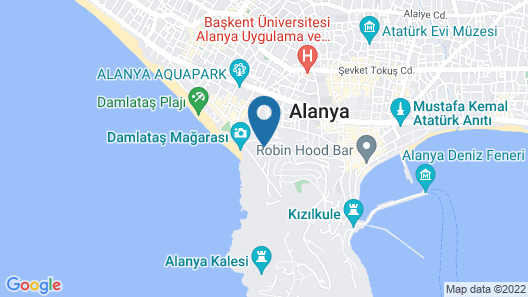 Sunny Hill Alya Hotel - All Inclusive Map