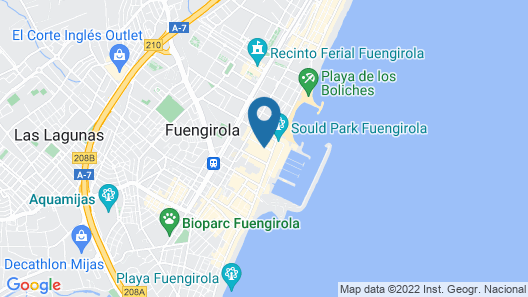 Hotel Pyr Fuengirola Map