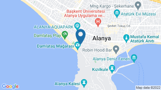 Kleopatra Atlas Hotel - All Inclusive - Adults Only Map