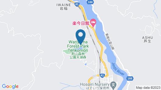 Wariyama Shinrin Koen Tenkomori Map
