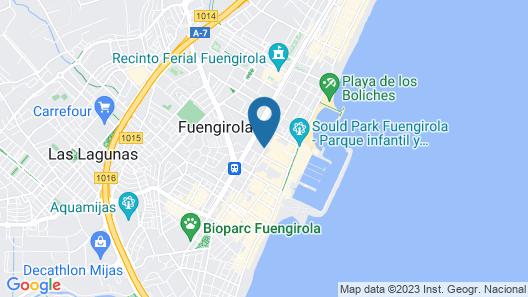 Holidays2Fuengirola Center & Boliches Map