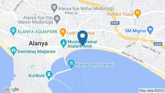 En Vie Beach Boutique Hotel-Adult Only Map