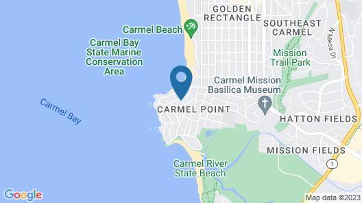 Sandpiper Inn Map