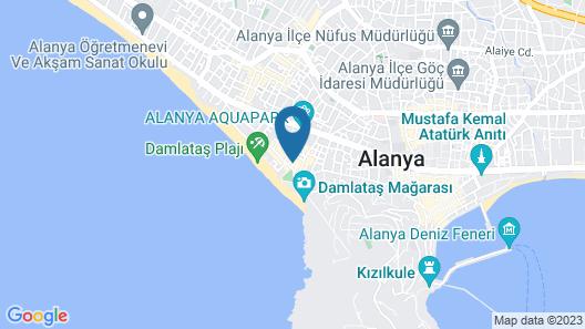 Kleopatra Bavyera Hotel Map