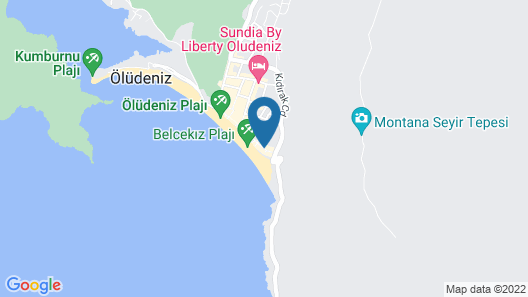 Seyir Beach Hotel Map