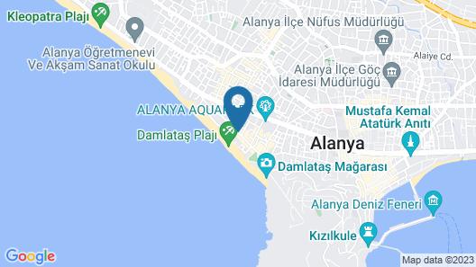Kahya Hotel Map