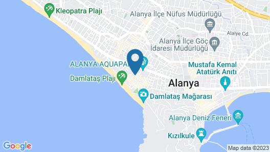 Kleopatra Suit Hotel  Map