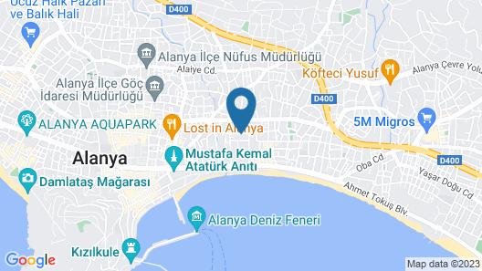 Sealine Hotel - All Inclusive Map