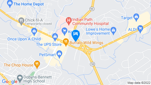 Red Roof Inn Kingsport Map