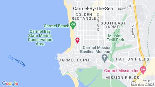 Colonial Terrace Inn by the Sea Map