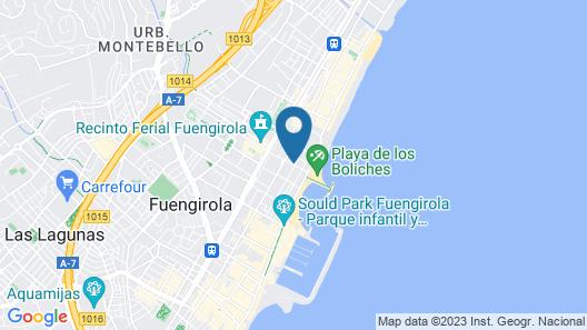 Sur Suites La Dorada Map
