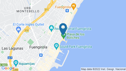 APARTAMENTOS STELLA MARIS ( MARCARI SL.) Map