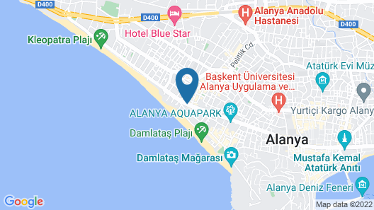 Grand Okan Hotel Map