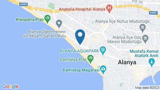 Savk Hotel Map