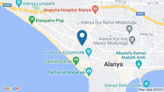 Serendi Apart Hotel Map