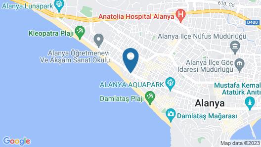 Xperia Saray Beach Hotel  - All Inclusive Map