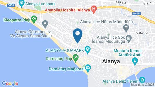 Kandelor Hotel Map