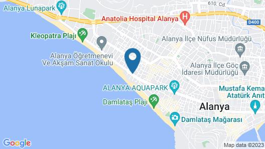 Taç Premier Hotel & Spa - All Inclusive Map