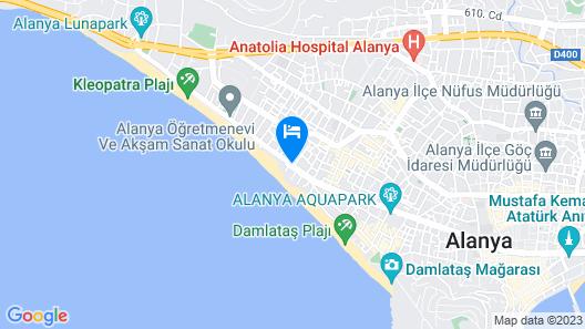 Delfino Boutique Apart Hotel Map