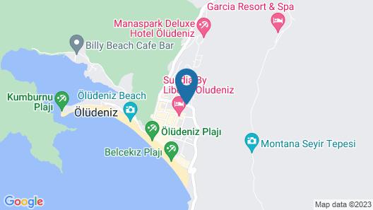 Alize Hotel - All Inclusive Map