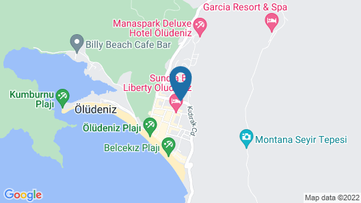 Karbel Hotel - All Inclusive Map