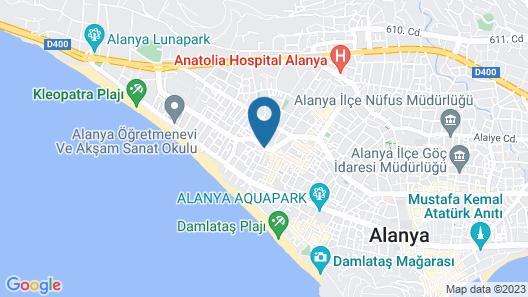 Royalisa City Apart Hotel Map