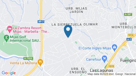 Villa Jeroma Map