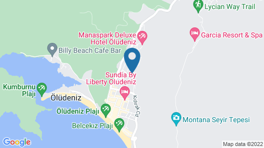 Mozaik Swim Up Hotel and Apartments Map
