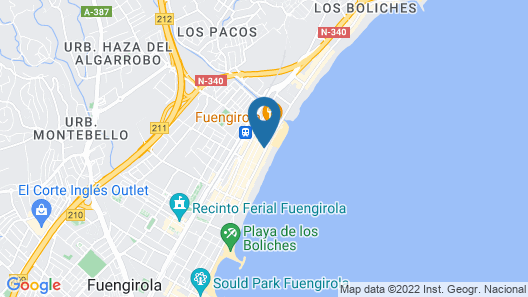 Hotel ILUNION Fuengirola Map