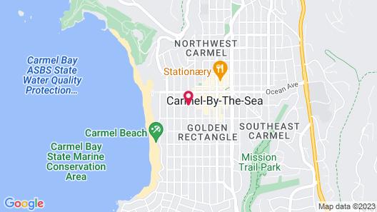 Carmel Green Lantern Inn Map