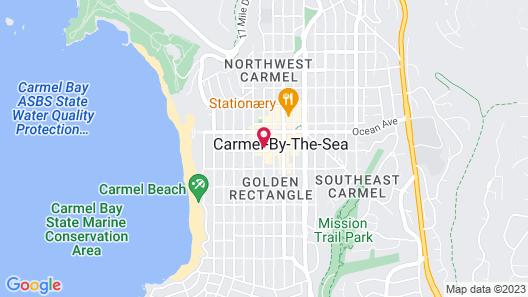 Cypress Inn Map