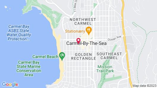 L Auberge Carmel Map