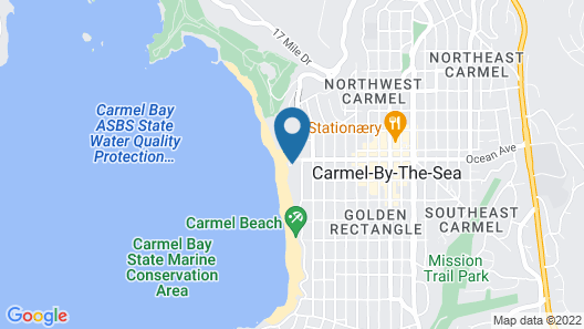 New Listing! Ocean-view Getaway W/ Beach Access 3 Bedroom Home Map