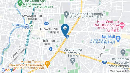 Hotel Livemax Utsunomiya Map