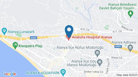 Ark Suite Hotel Map