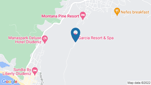 Garcia Resort & Spa Map
