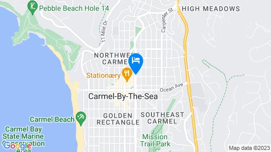 Carmel Inn And Suites Map