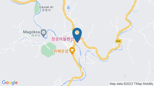 Jangseung Park Pension Map