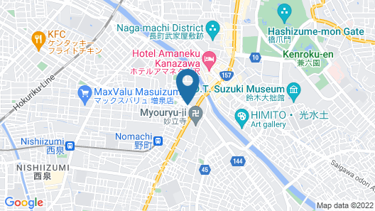 nishichayagai Muu house hotel Map