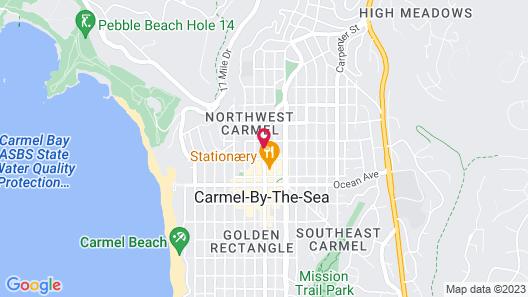 Candle Light Inn Map