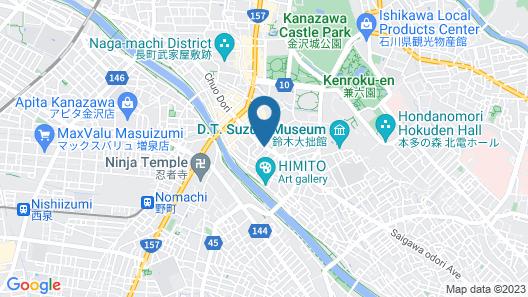 APA Hotel Kanazawa Katamachi (smoke-free) Map