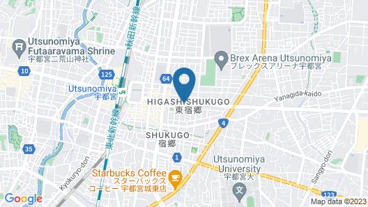 Smile Hotel Utsunomiya Higashi-guchi Map