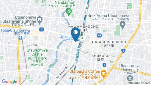 Richmond Hotel Utsunomiya Ekimae Map