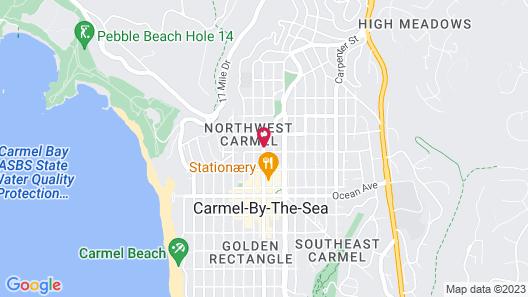 Hotel Carmel Map